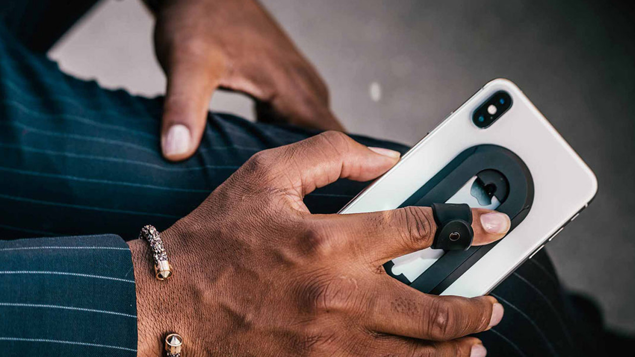 telefon parmak tutucu