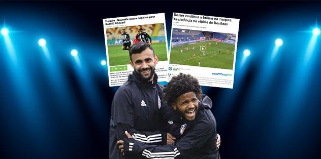 Beşiktaş'ın yıldızları ülkelerinde manşet oldu! Rosier ve Ghezzal…