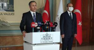 Vali Yerlikaya: '65 yaş ve üzeri büyüklerimizde aşı oranı İstanbul'da yüzde 68′